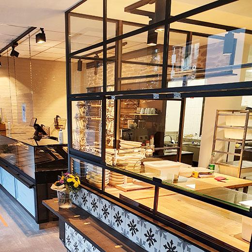 »Das Brotatelier« in Gießen | Blick in die Backstube