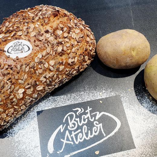 Kartoffel-Quark-Brot | Das Brot-Atelier in Gießen