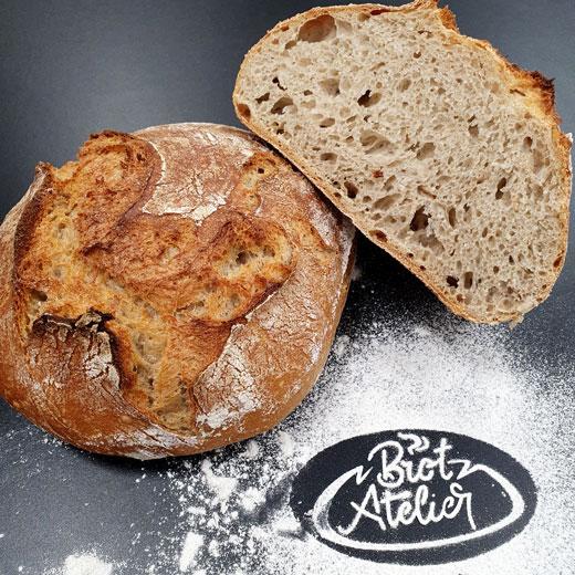 Französisches Steinmühlenbrot | Das Brot-Atelier Gießen